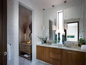 Master bathroom from hgtv green home