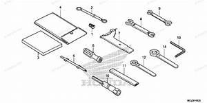 Honda Motorcycle 2015 Oem Parts Diagram For Tools