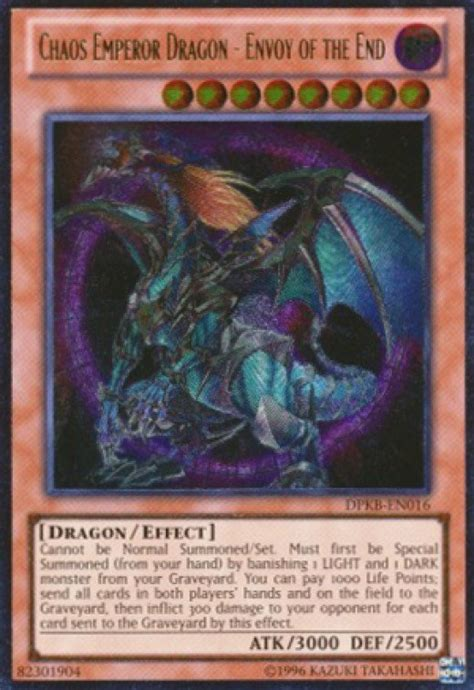 Chaos Emperor Deck 2015 by Yu Gi Oh S Top 6 Forbidden Cards Hobbylark