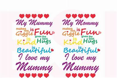 Mummy Svg Mommy Quote Dxf Eps Cutting