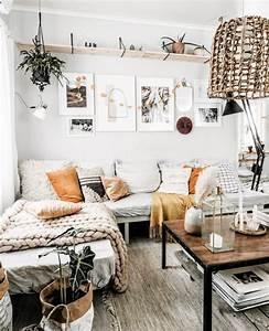 10, Chic, And, Cozy, Boho, Living, Room, Ideas