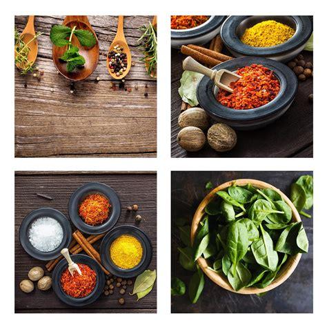 Küche Bilder Deko by Levandeo Glasbild 30x30cm Wandbild Glas K 252 Che Kr 228 Uter