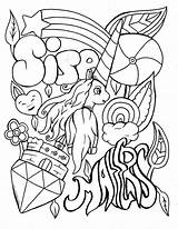 Swear Coloring Word Pages Printable Adult Print Unicorn Visit Words Swearing Colouring Sheets Funny Books Stress Away Source Site sketch template