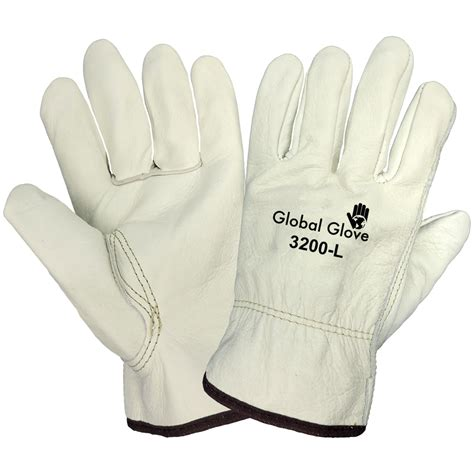 Cowhide Leather Gloves by 3200 Premium Grain Cowhide Leather Gloves Global Glove