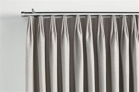 Traverse Rods For Drapes - master bedroom tailored pleat drapery on traverse rod