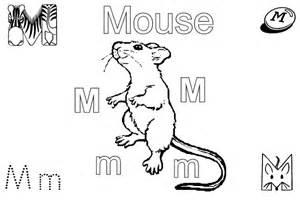Printable Preschool Worksheets Letter M