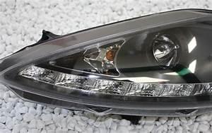 Scheinwerfer Ford Fiesta : scheinwerfer ford fiesta mk7 ja8 08 led tagfahrlicht tfl ~ Kayakingforconservation.com Haus und Dekorationen