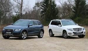 Essai Audi Q5 : essai comparatif audi q5 vs mercedes glk ~ Maxctalentgroup.com Avis de Voitures