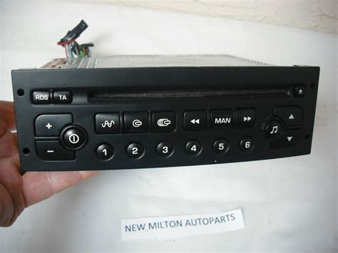 peugeot   radio cd player vdo psarcd   code