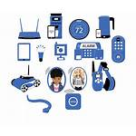 Icon Security Computer Professional Company Iot Devices