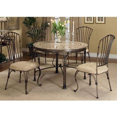 cramco ashton collection 5 dining set with mosaic