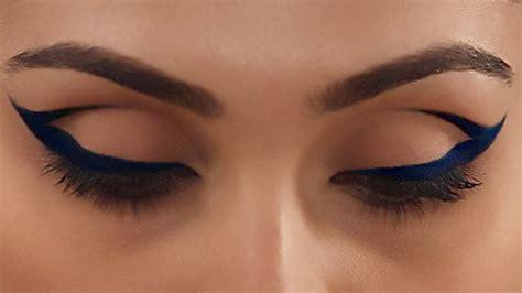 Expert Makeup Tutorial Cobalt Blue Cat Eye You
