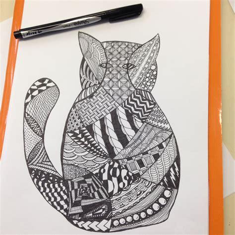 art zentangle inspired animals nat  nifty