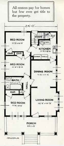 plan to build a house 1926 standard house plans the oakdale house room