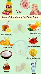 How To Use Apple Cider Vinegar For Sore Throat Know The