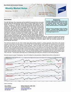 Weekly Market Notes - November 19, 2018   Seeking Alpha