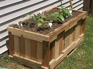 Wood Pallet Garden Planters Pallet Ideas: Recycled