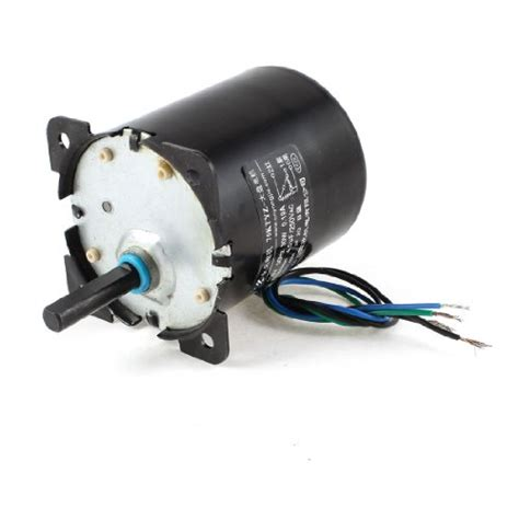 Synchronous Electric Motor by Uxcell Ac 110v 0 19a 30w 32r Min Speed 8mm Shaft