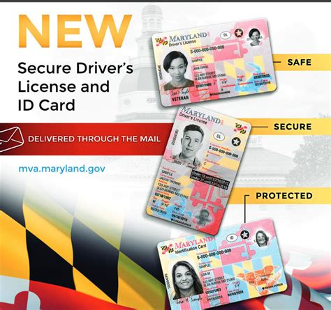 Maryland Unveils New Driver's Licenses And Id Cards