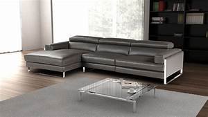 romeo modern sectional left facing chaise giuseppegiuseppe With sectional sofa built in tables