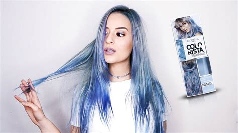 L'orÉal Colorista Review #bluehair