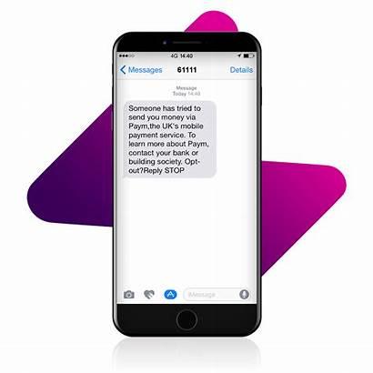 Text Received Paym Messages Receive Alert Service