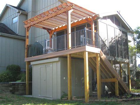 Ipe Deck Stairs