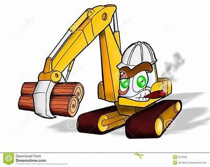 Heavy Equipment Construction Duty Clipart Backhoe Clip