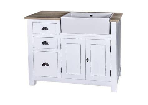 evier cuisine blanc acheter votre meuble de cuisine en pin massif avec évier