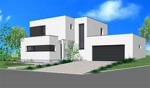 maison toit plat moderne With good photo maison toit plat 2 prix maison toit plat 120m2 images