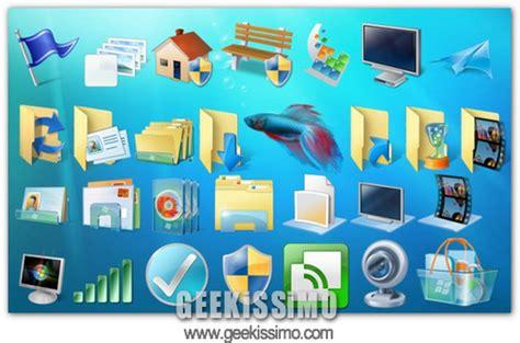 cacher icone bureau windows 7 come ricostruire la cache delle icone geekissimo