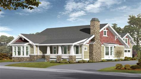 open floor plans craftsman style craftsman home plans  mother  law suite craftsmans style