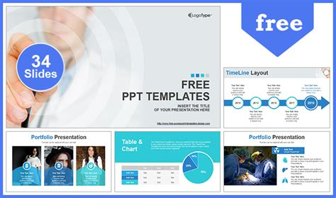 Scientific Researcher Medical Powerpoint Template
