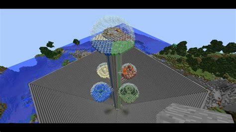 minecraft building ideas  hemisphere tower youtube