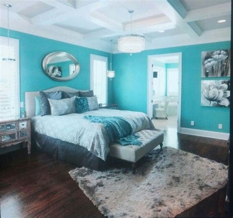 20 Master Bedroom Colors  Tiffany Blue Paints, Tiffany
