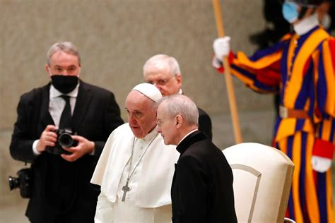 Pope ends public audiences, limits numbers at Christmas as ...
