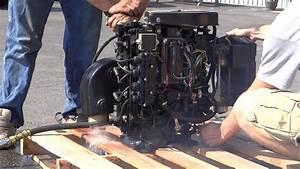 Mercury Sport Jet 120 Complete Engine Test - Runs Great