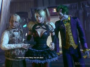Harley Quinn and The Joker Batman arkham knight | ♥️♠️ ...