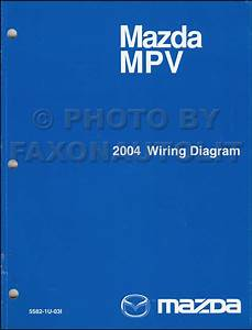 2004 Mazda Mpv Wiring Diagram Manual Original