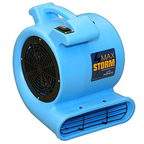 max air pro fan max storm 1 2 hp 2550 cfm durable lightweight air mover
