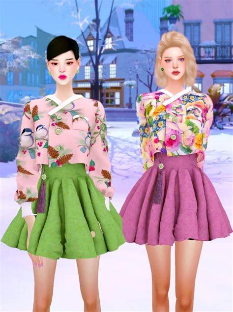 Korea Modernized Hanbok At Rimings Sims 4 Updates