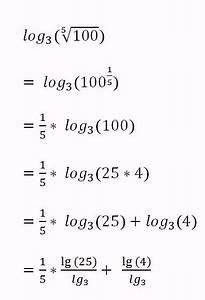 Logarithmus Berechnen : logarithmus logarithmus ohne taschenrechner berechnen mathelounge ~ Themetempest.com Abrechnung