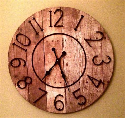 horloge de cuisine originale la grande horloge murale en photos archzine fr