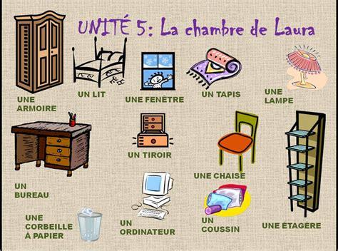 la chambre en direct francés en el cole la chambre la maison et les