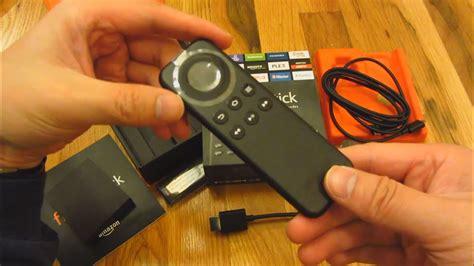 stick fire remote amazon tv open control