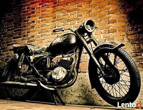 Chętnię Kupię Stare Motocykle, Skutery, Części