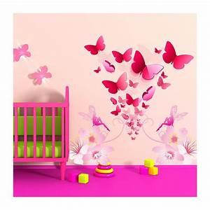 autocollant chambre fille 003241 gtgt emihemcom la With affiche chambre bébé avec autocollant fleur
