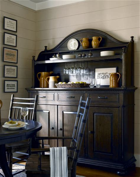 Paula Deen Sideboard by Paula Deen Credenza And Hutch In Molasses Traditional