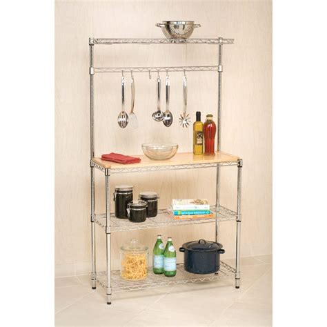 Easy Organization With Bakers Racks  Bakers Racks Collection