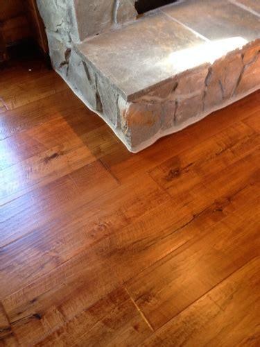Wood 14 14. Pre finished engineered plank flooring